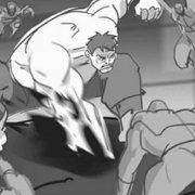 The Avengers storyboard The Hulk