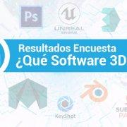 Que Software 3D Usas Encuesta Banner Industria Animacion