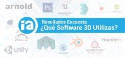 Resultados: ¿Qué Software de Animación 3D Utilizas?
