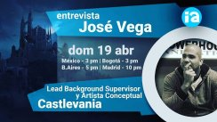 Entrevista: José Vega – Lead Background Designer en Castlevania / Freelancer
