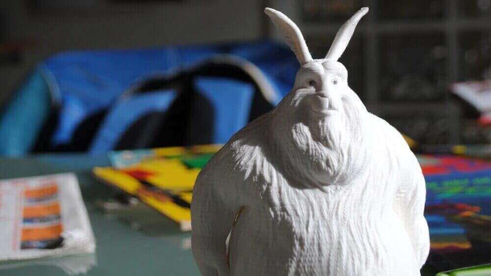 Big Buck Bunny creado en Blender