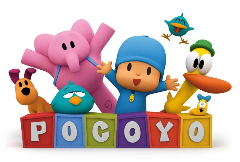 Pocoyo es una de las series más exitosas en la historia de la animación en España