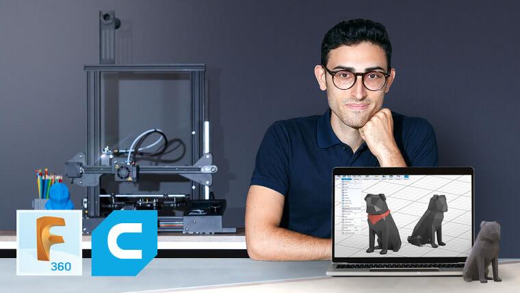 Curso de Domestika - Introducción al Diseño e Impresión 3D