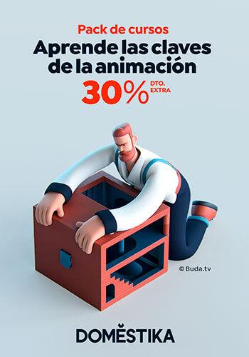 Domestika - Pack de Cursos de Animación