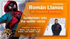 Próxima Entrevista con Román Llanos - Animador 3D (17/Mayo)