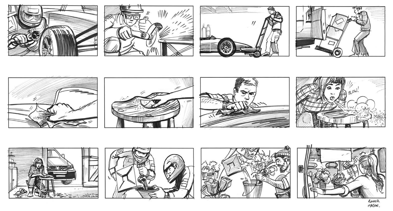 Panel de Animayo sobre storyboard