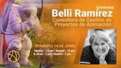 Próxima Entrevista con Belli Ramírez (14/Junio)