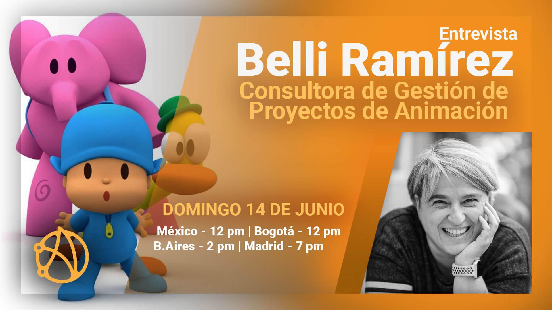 Belli Ramírez - Entrevista en Vivo