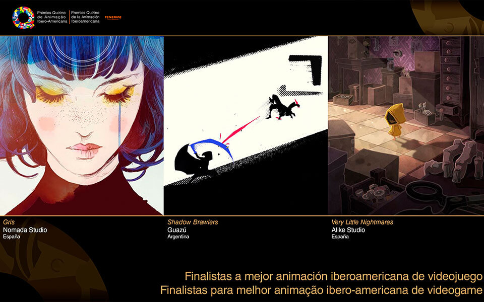 Premios Quirino - Mejor Videojuego Iberoamericano