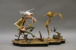 Pinocho en Stop Motion por Guillermo Del Toro