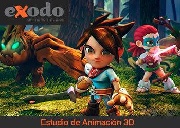 Exodo Animation Studios - Estudio de Animación 3D