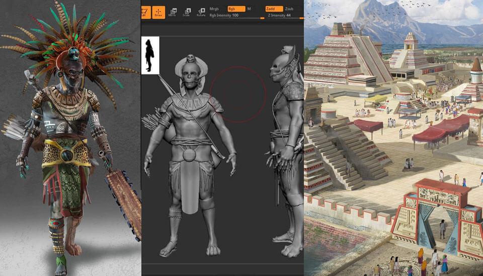 videojuegos mexicanos Mictlán: Videojuego Inspirado por Mitología Mexicana